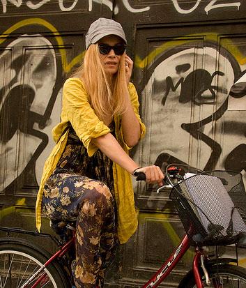 yellow-biker