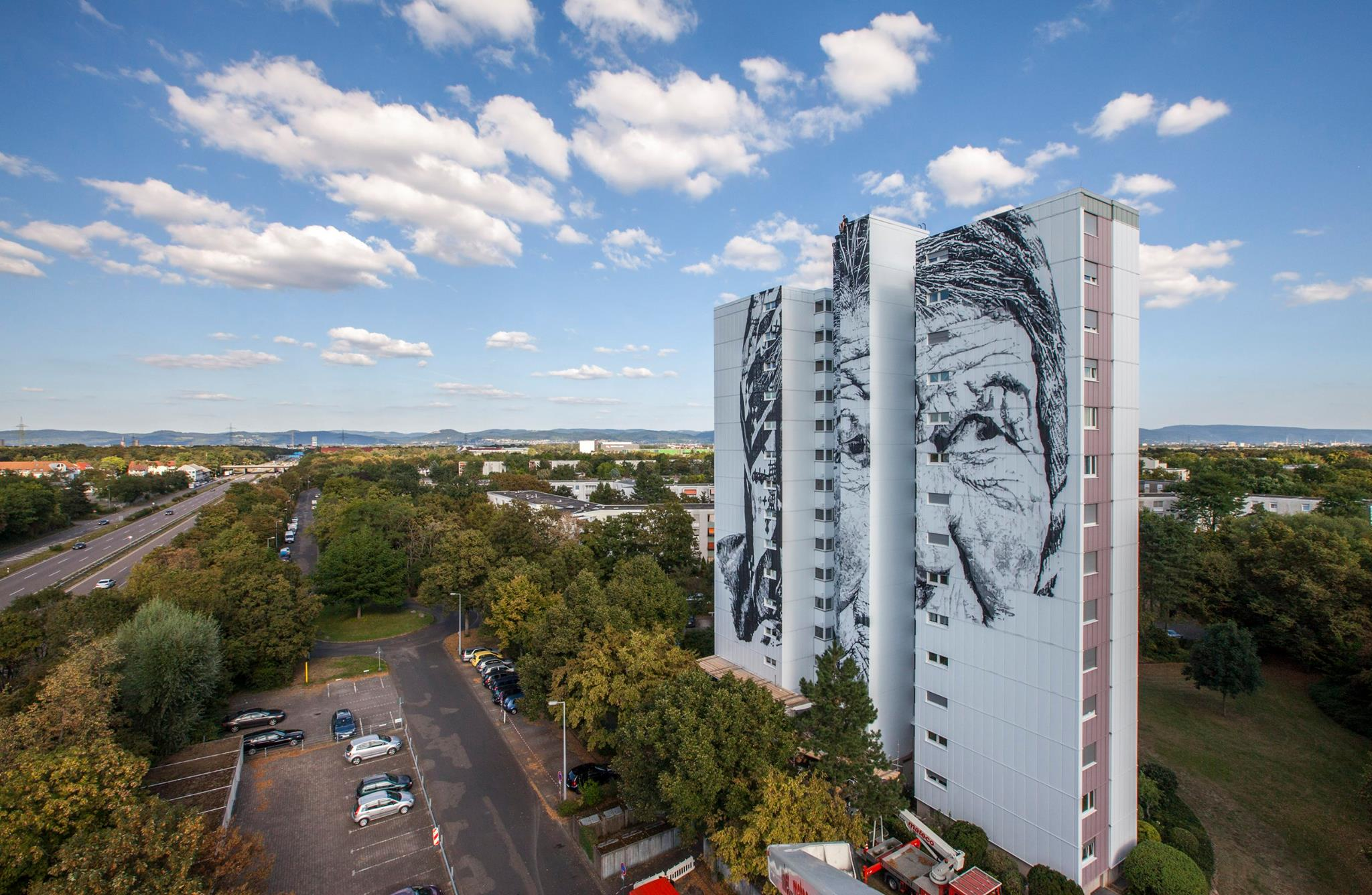 Mannheim Germany Quotvera Quot By Ecb In Mannheim Germany Streetartnews