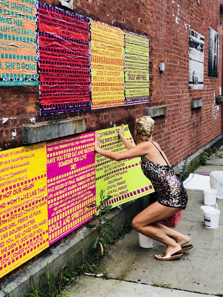 Interviews with street artists and graffiti artists in New York
