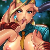 As you can see on this awesome picture Cammy has a huge foot fetish!