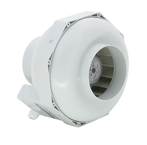 Buisventilator 125mm 350m3 Streetsupply - Buisventilator 125mm
