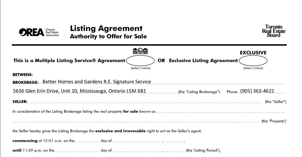 The Benefits Of The Buyer Representation Agreement Yo