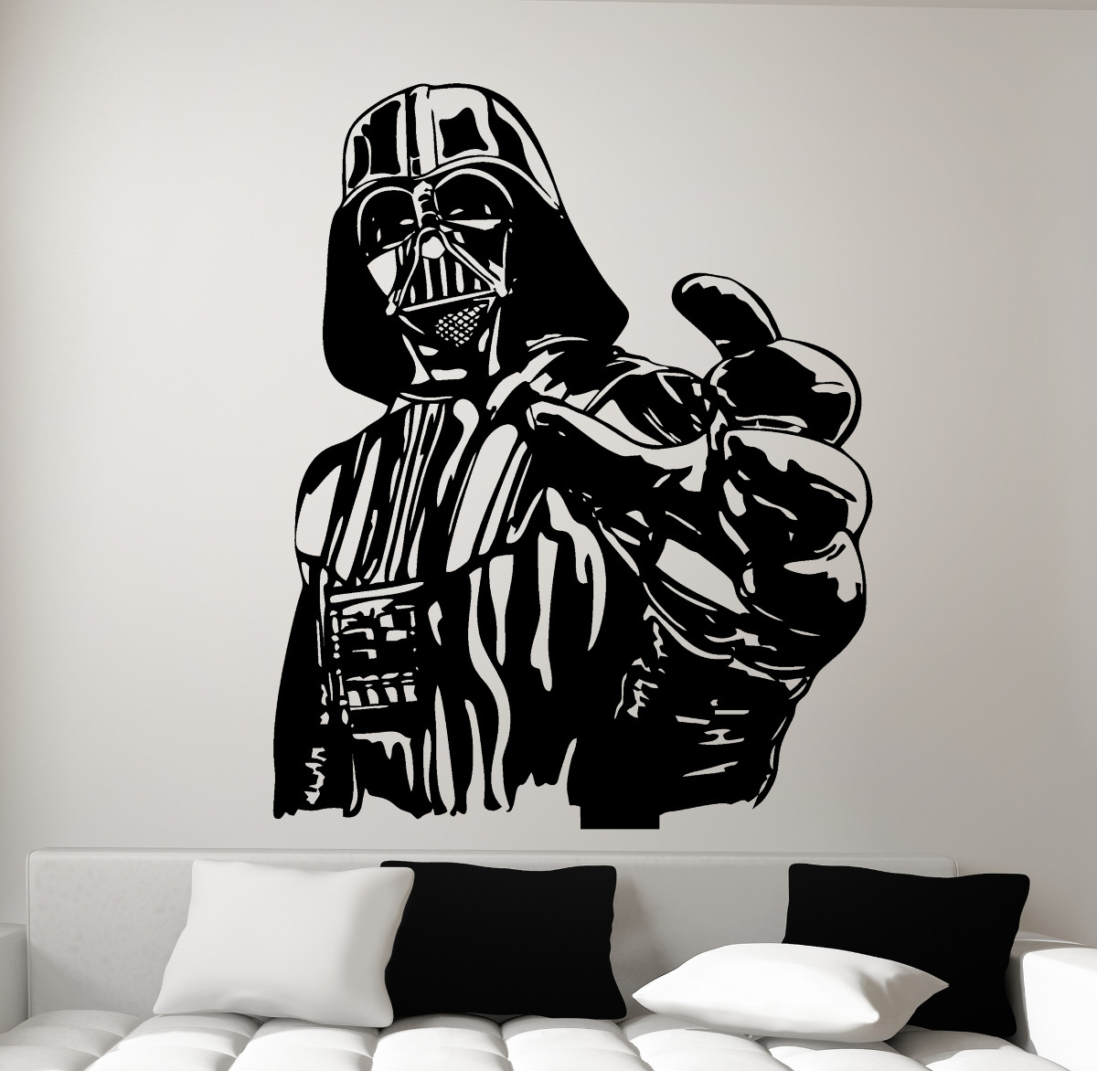 Vinilos Decorativos Star Wars Wall Decal Darth Vader Star Wars
