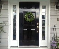 DIY Lessons Learned: Painting My Front Door Black