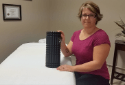 Foam Roller To Treat Frozen Shoulder