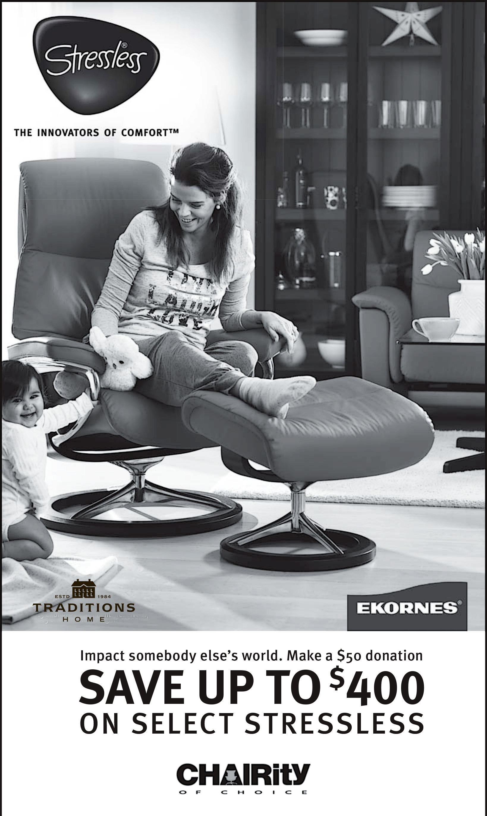 Stressless-world.com Charity Of Choice By Stressless Stressless