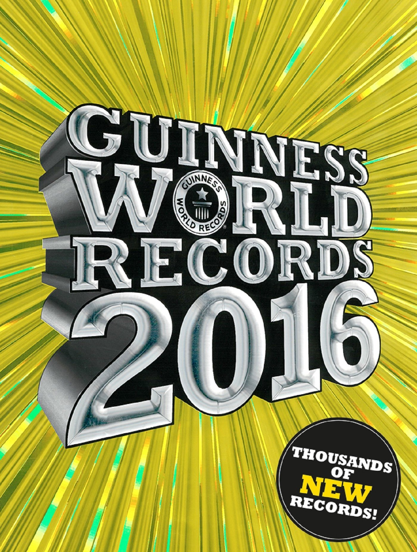 Libro Record Guinness 2017 Guinness World Records 2016 Book For 10 13 Stretching A