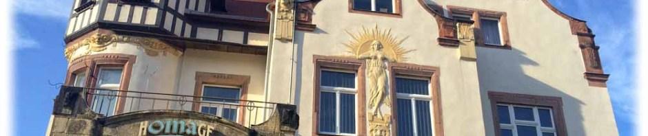 1903 als Villa Wasa gebaut, war das Haus am Wasaplatz zu DDR-Zeiten ein Kulturhaus für Dresden-Süd. Die Villa ist inzwischen im Jugendstil saniert und beherbergt die Gaststätte Homage. Foto: Heiko Weckbrodt