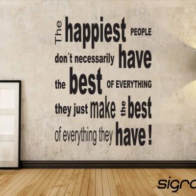 Happiest people
