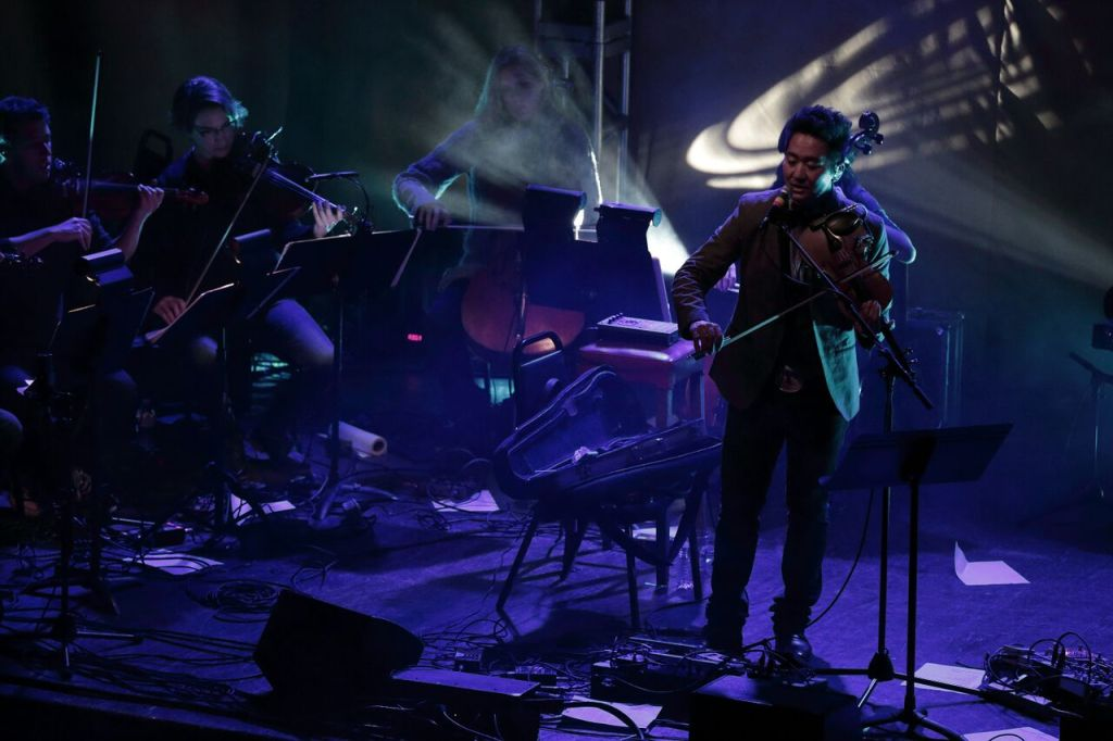 Kishi Bashi string quartet