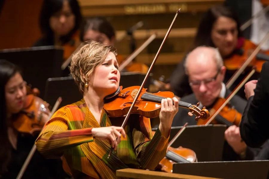 Violinist Leila Josefowicz 001