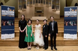 Junior Finalists of Menuhin Competition London 2016