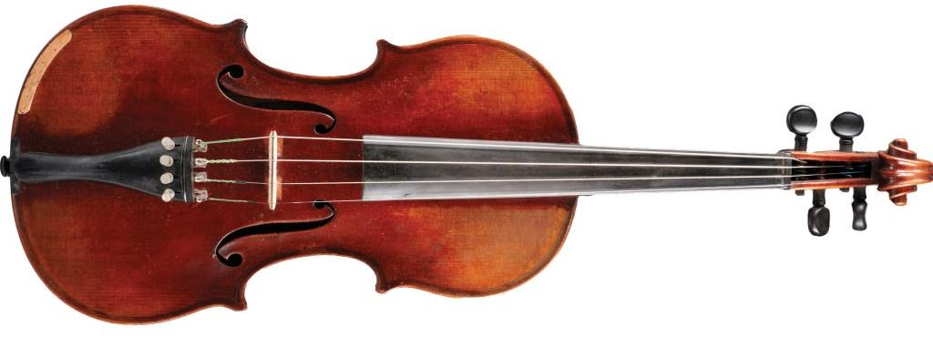 Ernst Heinrich Roth violin, c. 1922