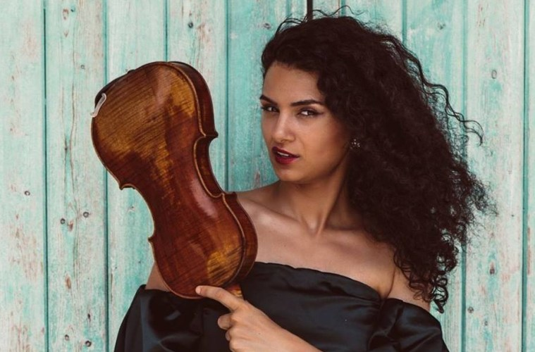 Violinist Nune Melik on her debut album Hidden Treasures project