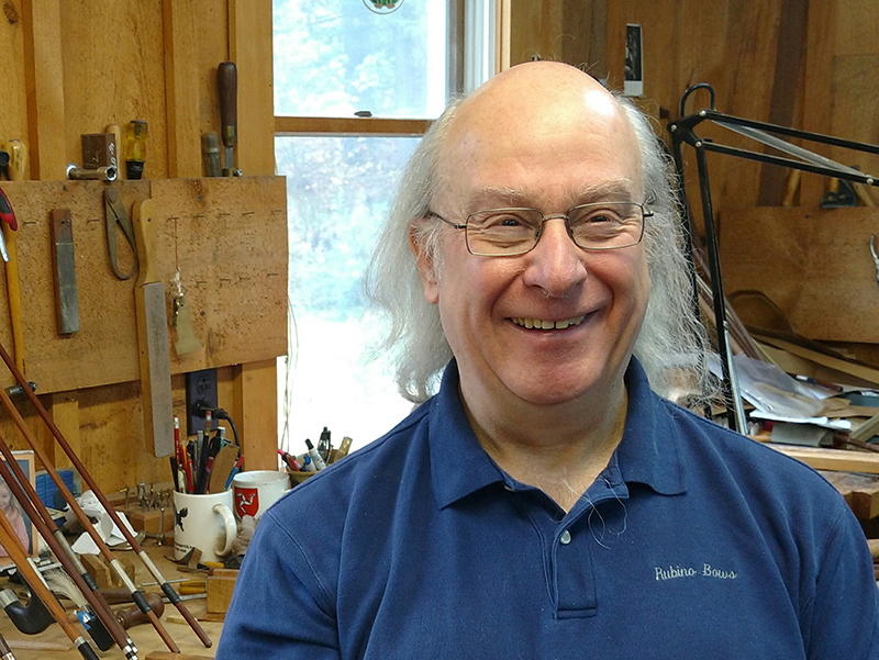 bow maker George Rubino