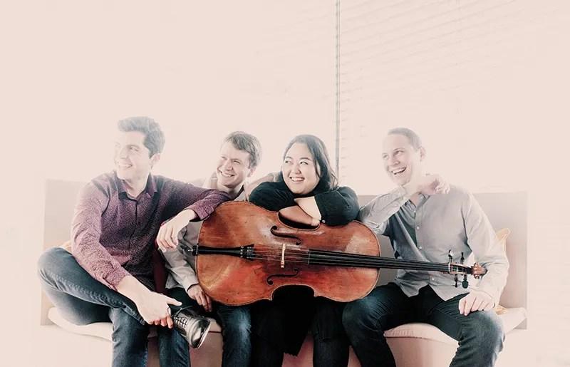 Calidore String Quartet (Photo by Marco Borggreve)