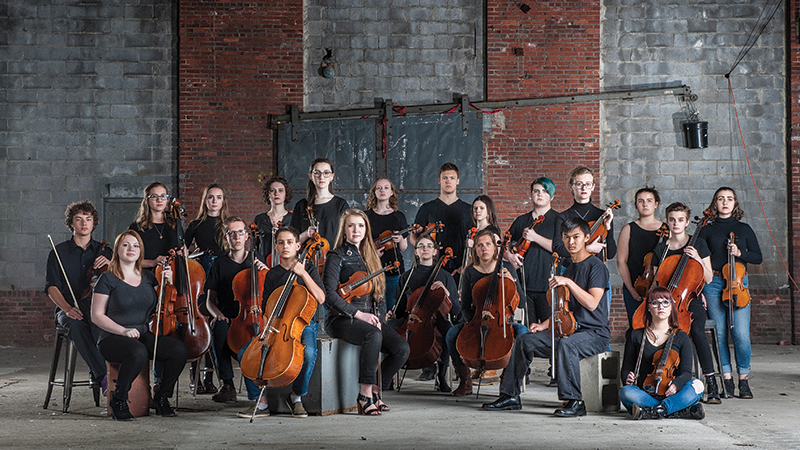 Maine Youth Rock Orchestra offers teens a look into a world