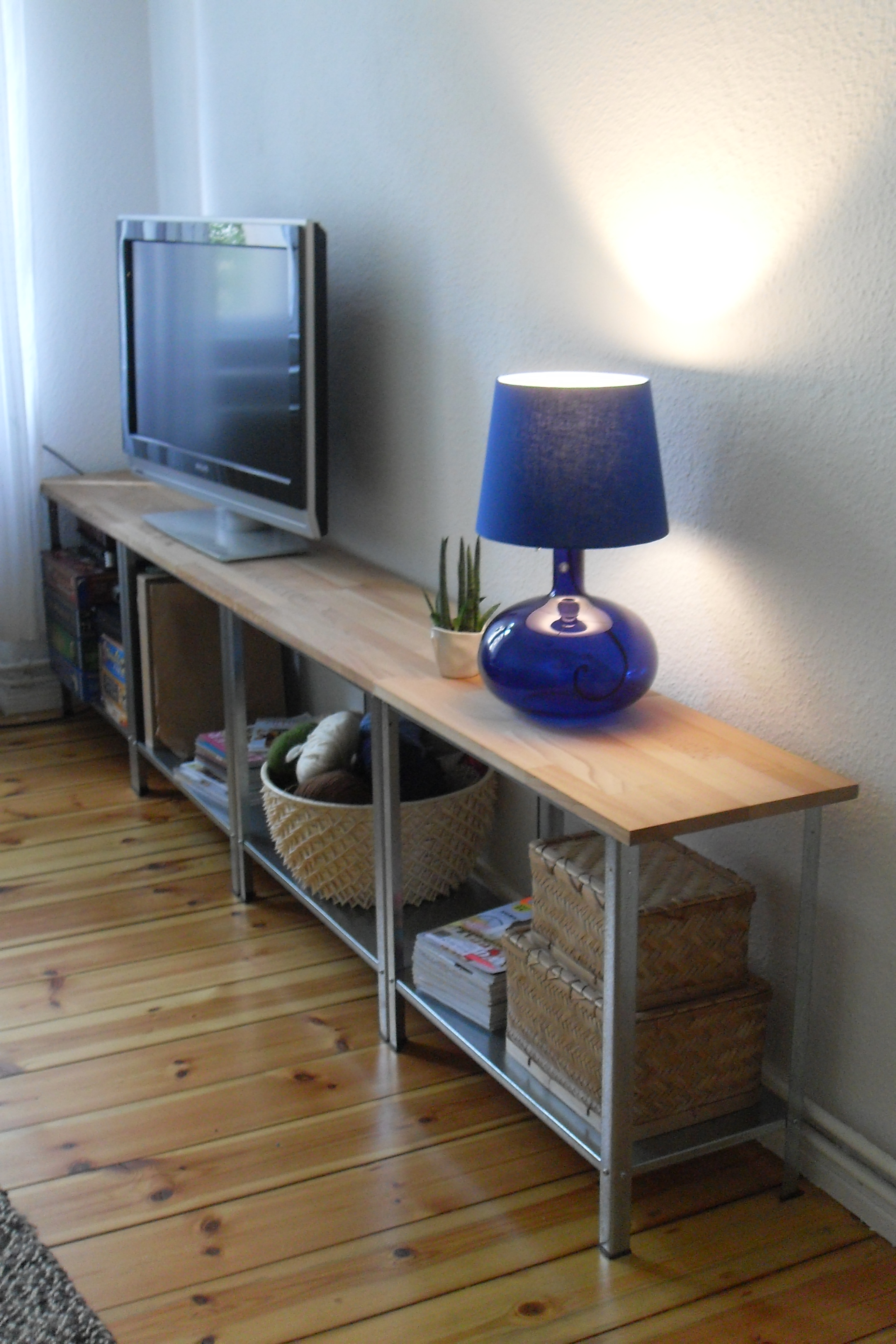Diy Regal Diy Sideboard Tv Regal Ikea Hack Hyllis Stroemanns Kleines