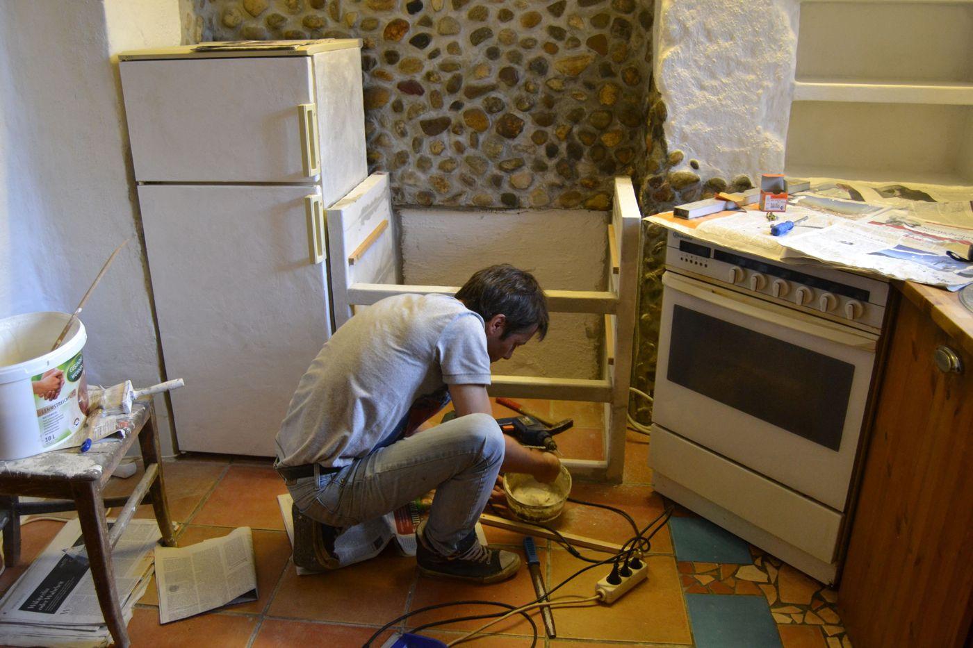 Dunstabzugshaube unterbau ytong küchenschränke an ytong