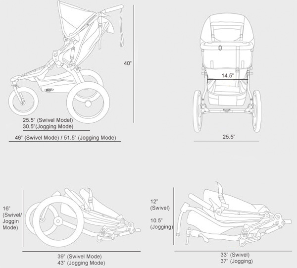 Double Stroller In Store Bob Revolution Se Single Stroller Review • Strollergy