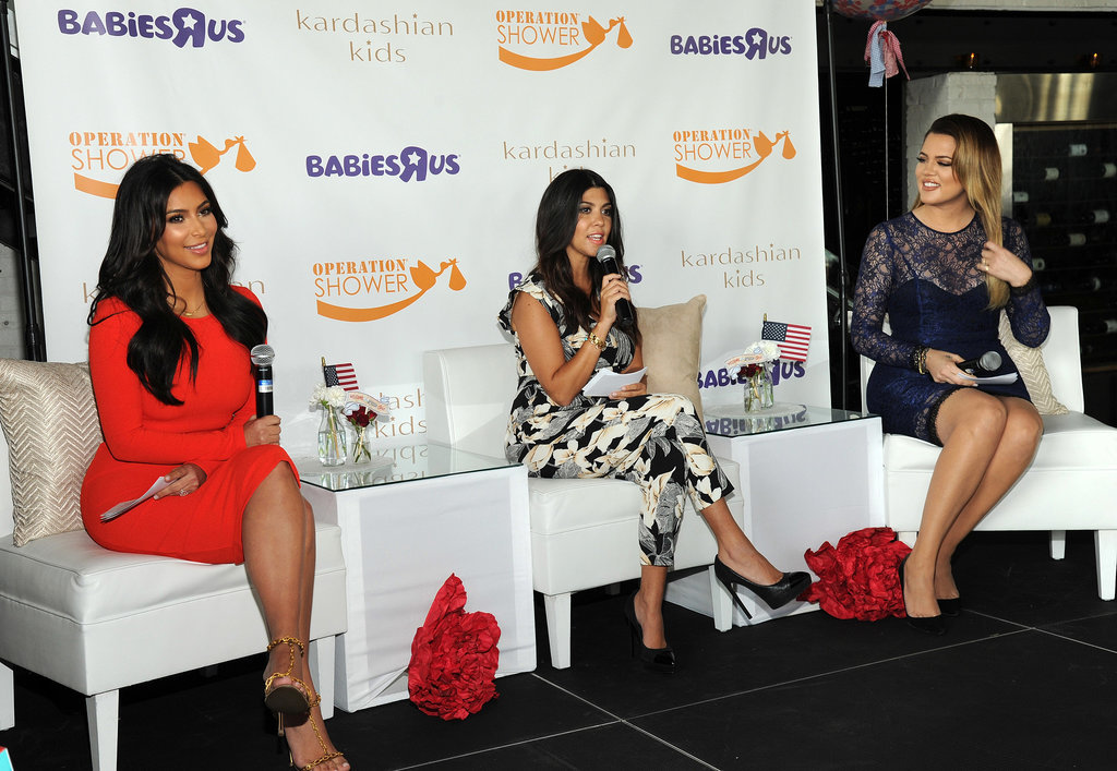 Babies R Us Aden And Anais Kardashians Host Operation Shower Stroller In The City