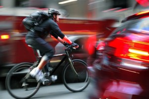 Do helmet cameras make cyclists safer?