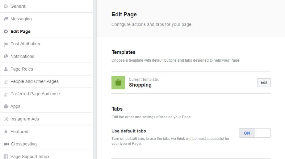 Facebook Page Templates - A First Look Strong Coffee Marketing