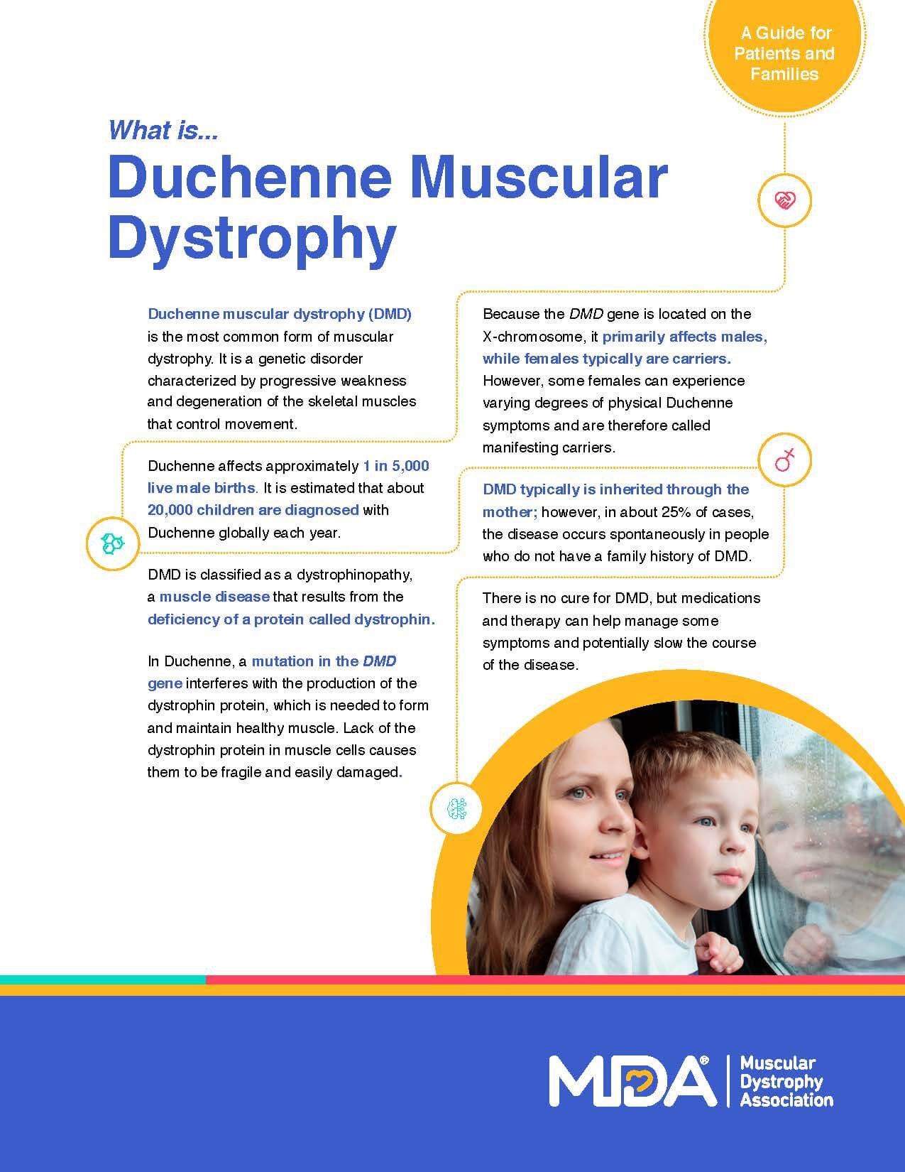 Duchenne Muscular Dystrophy Symptoms Toddlers Mda Releases New Dmd Fact Sheet During Duchenne Muscular Dystrophy