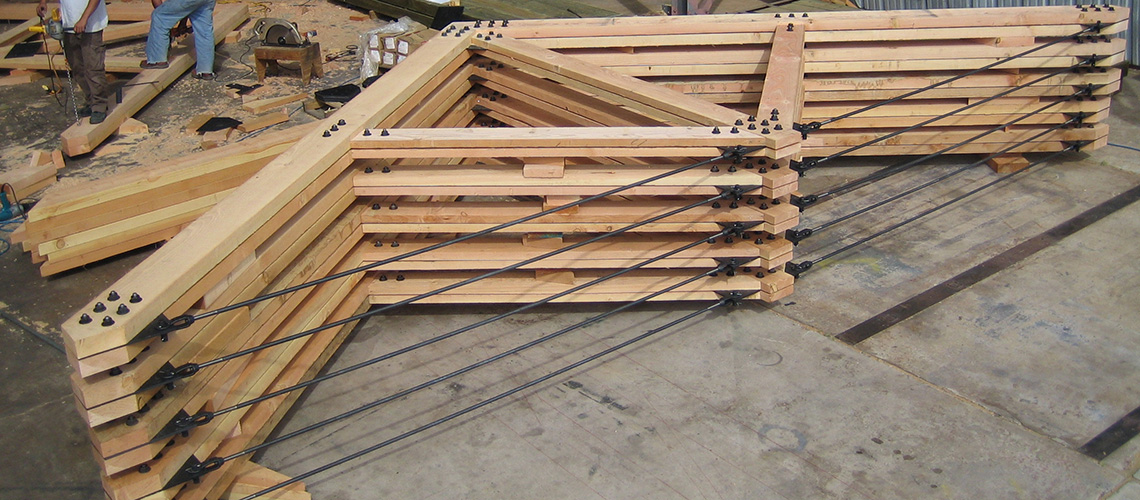 Composite Wood And Steel Structural Wood Components