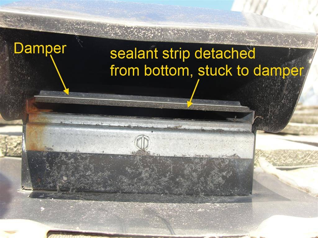 Exhaust Fan Roof Vent A Common Problem With Ban Fan Exhausts