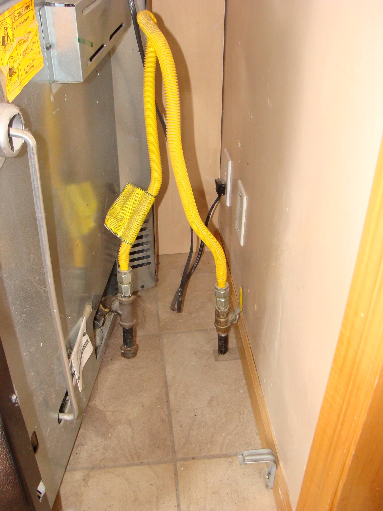 Running Gas Line To Fireplace Everything To Know About Gas Appliance Connectors Construction
