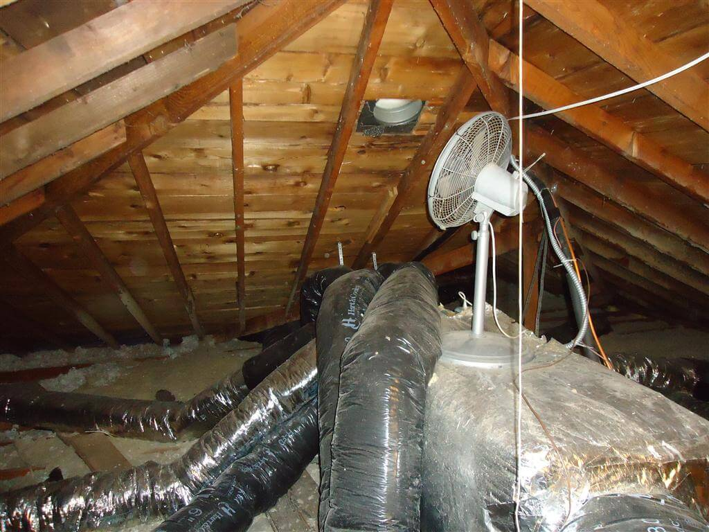 Garage Attic Air Conditioner Attic Fans Won T Fix Ice Dams