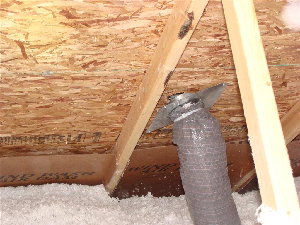 Bathroom Exhaust Fan Into Garage How To Prevent Ceiling Stains Around Your Bathroom Exhaust