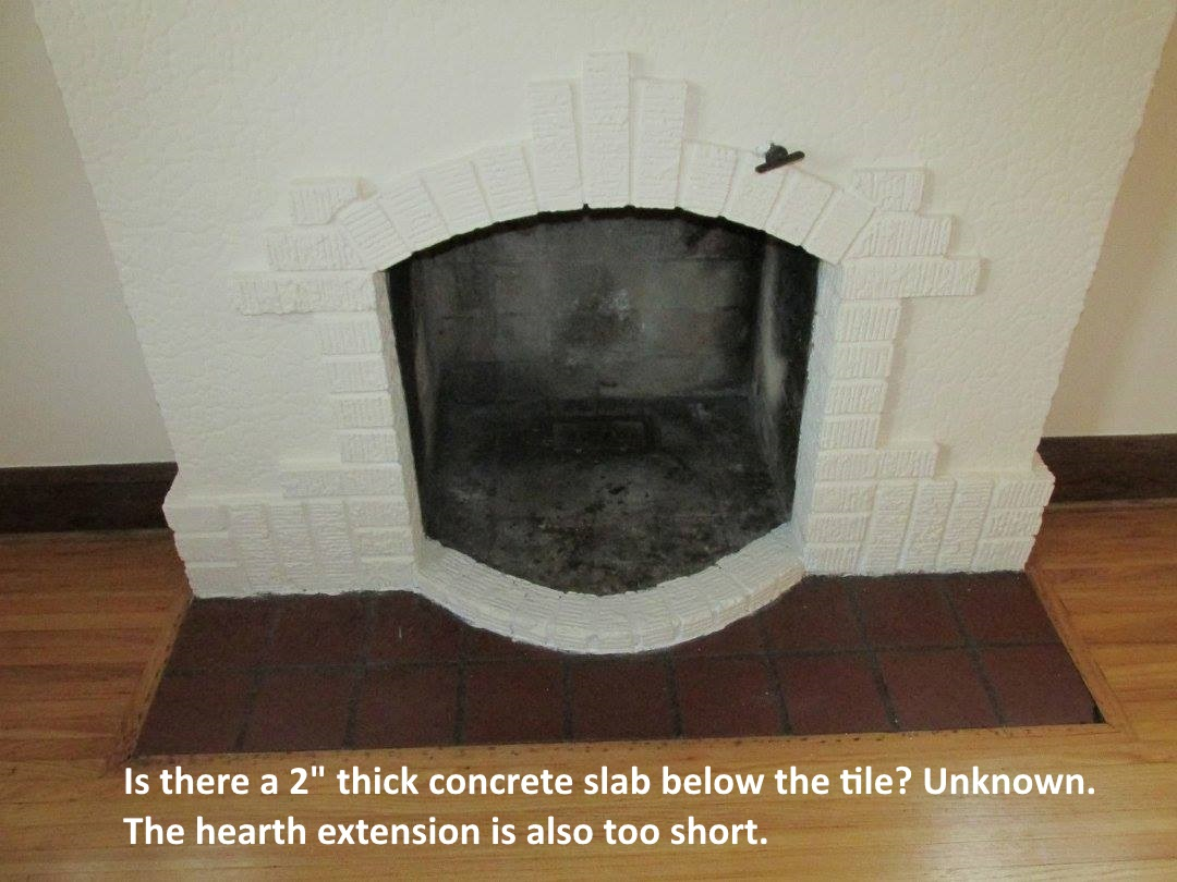 Build Your Own Fireplace Insert The Health Inspector Fireplace Hearth Extension Rules Should Not