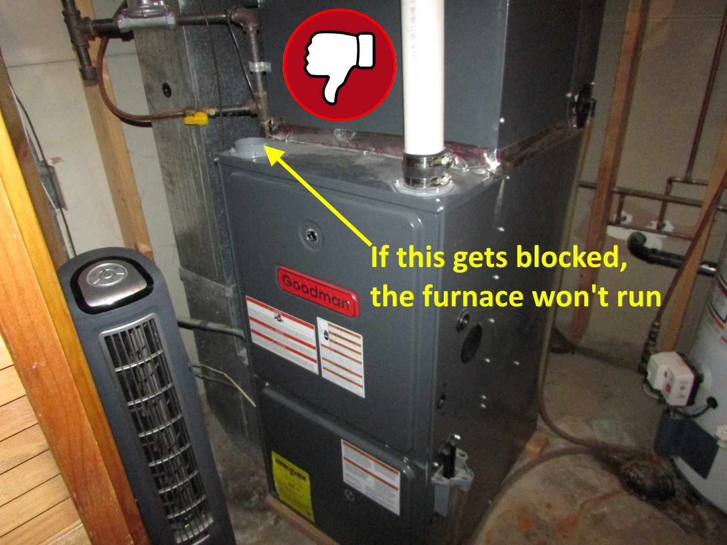 Garage Heater Minnesota Can You Install A High Efficiency Furnace With Only One Pipe