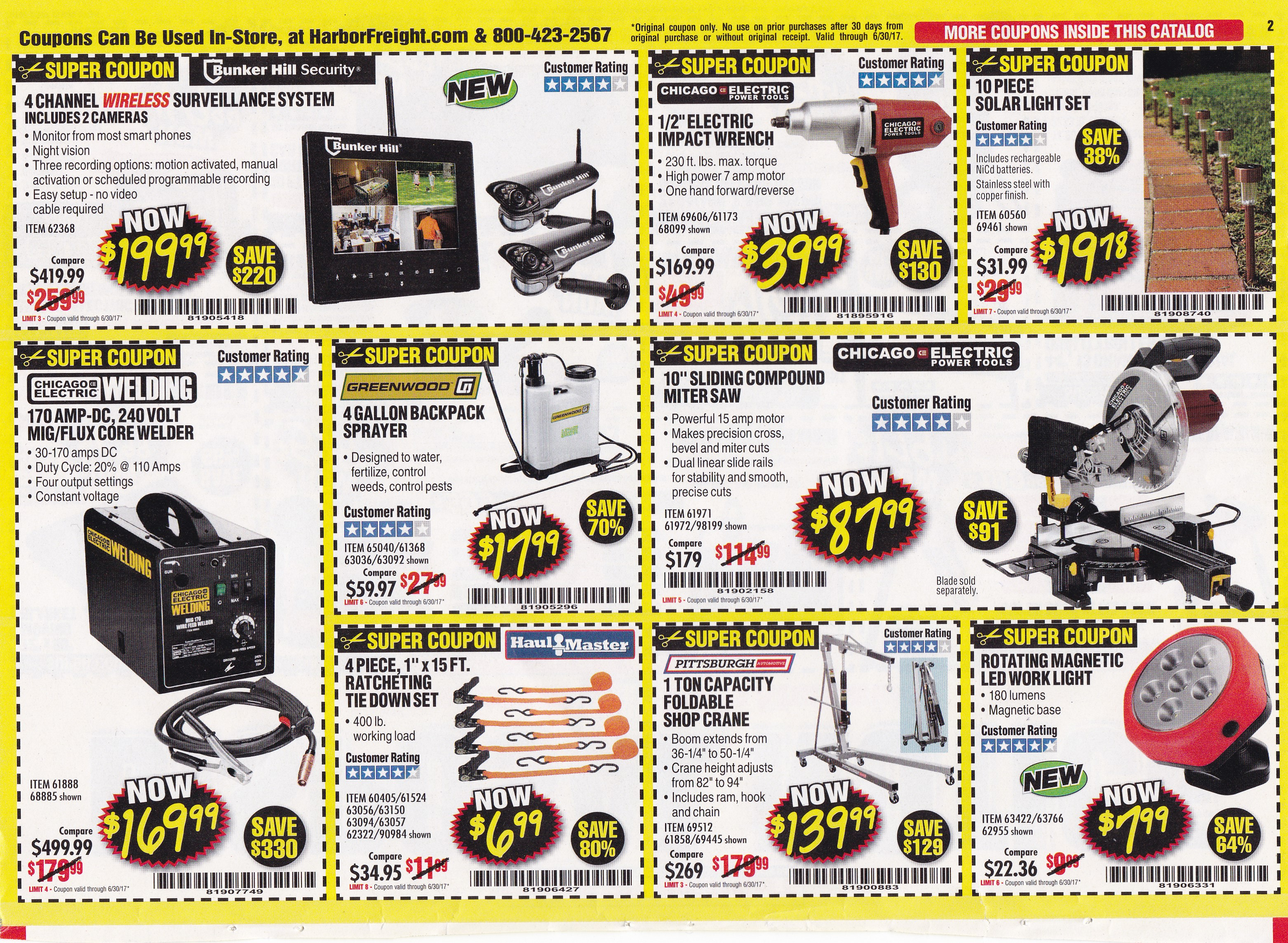 Over 100 harbor freight coupons expiring 63017 struggleville below the barcode for your coupon code when using the coupons in store either print the coupon page or show the cashier the coupon on your smart phone fandeluxe Gallery