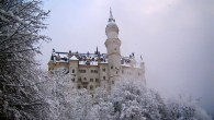 """Neuschwanstein Castle, Germany— Commissioned by """"Mad"""" King Ludwig II, this 19th century Romanesque Revival castle is prominently perched in the Bavarian Alps near Fussen, Germany. Walt Disney famously used the castle as inspiration for his Sleeping Beauty Castle. Over 1.3 million tourists visit Neuschwanstein annually, making it one of the […]"""
