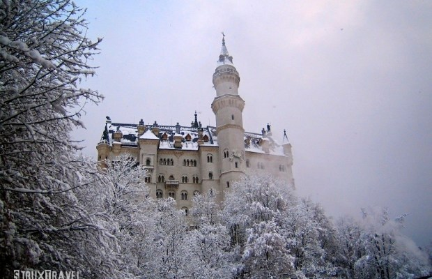 "Neuschwanstein Castle, Germany — Commissioned by ""Mad"" King Ludwig II, this 19th century Romanesque Revival castle is prominently perched in the Bavarian Alps near Fussen, Germany. Walt Disney famously used the castle as inspiration for his Sleeping Beauty Castle. Over 1.3 million tourists visit Neuschwanstein annually, making it one of the […]"