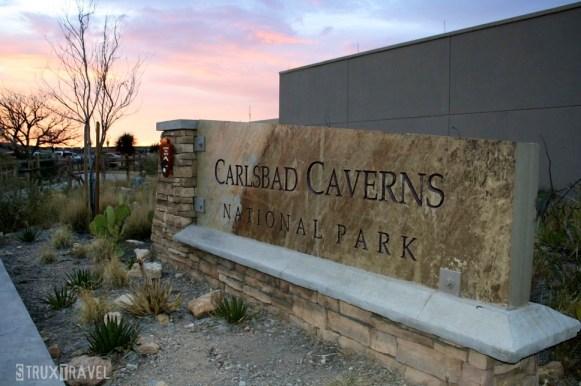 Carlsbad Caverns Sign