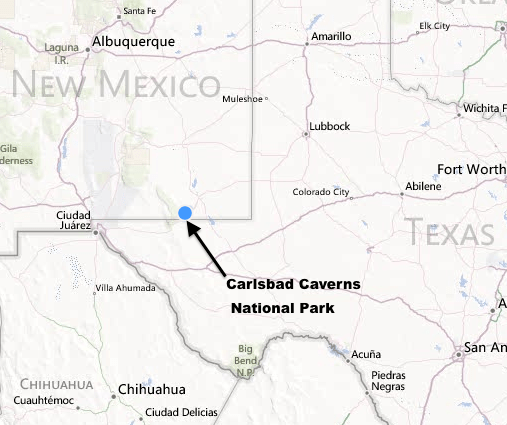 Greetings From Carlsbad Caverns New Mexico