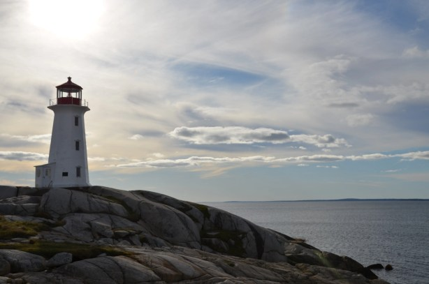 Peggys Cove Lighthouse Halifax Nova Scotia Tom Ross