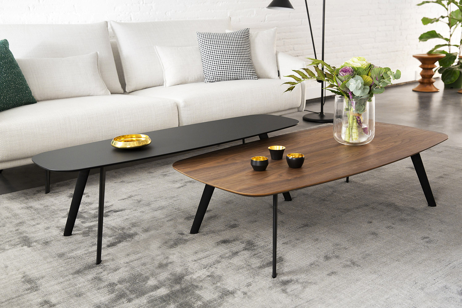 Crashglas Couchtisch Stua Solapa Coffee Table