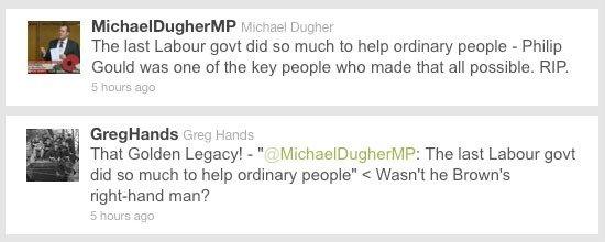 Michael Dugher Greg Hands retweet