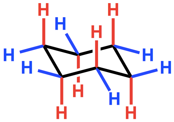 The ups and downs of cyclohexane chemical connections
