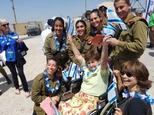 Survivor with IDF Soldiers