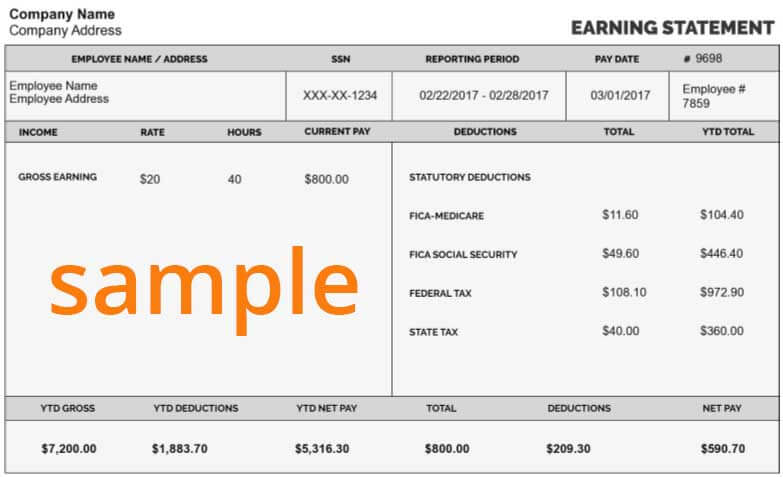Free Paycheck Calculator Online Best Pay Stub Calculator - Stubcreator