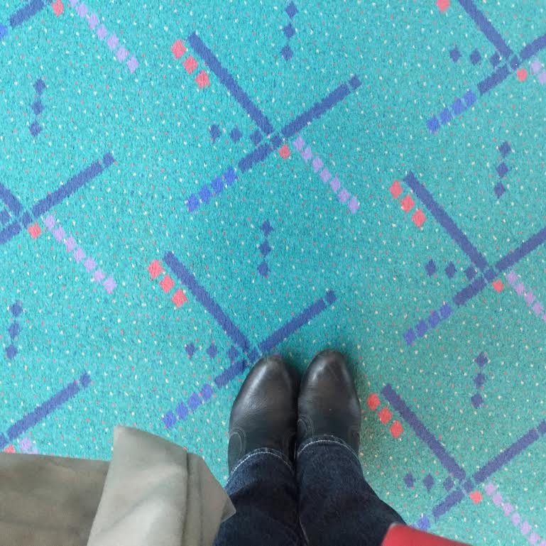 How To Get A Piece Of The Pdx Carpet Stuck At The Airport