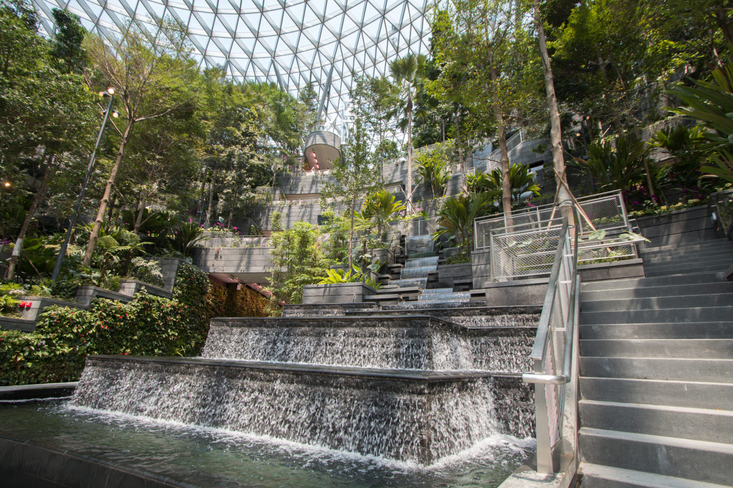 Changi Airport First Look At Jewel Changi Airport Attraction In Singapore
