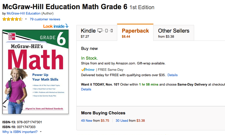 holt mcdougal mathematics 6th grade common core