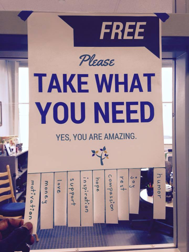The Student Affairs Collective take what you need - The Student